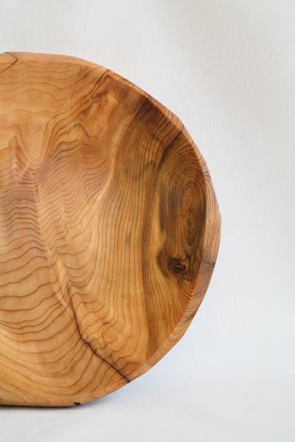 cedar fruit bowl