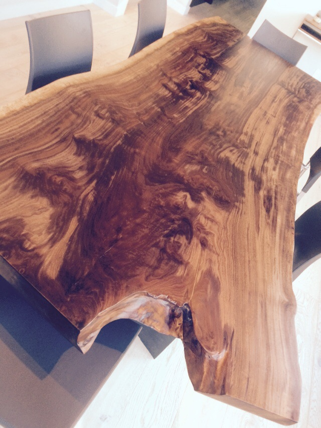 Walnut table top 7000